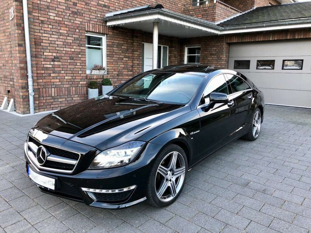 2013 Mercedes Benz Cls 63 Amg 4matic Vmax Great Condition Tags