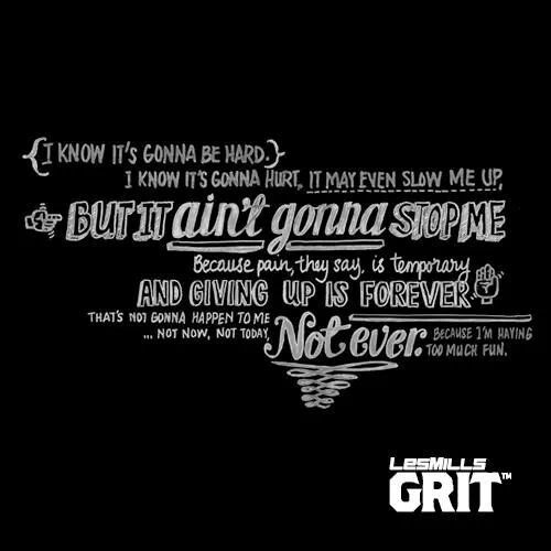 Grit Motivational Quotes: Les Mills Grit Is So Fun! Taking On The Cardio Version Now