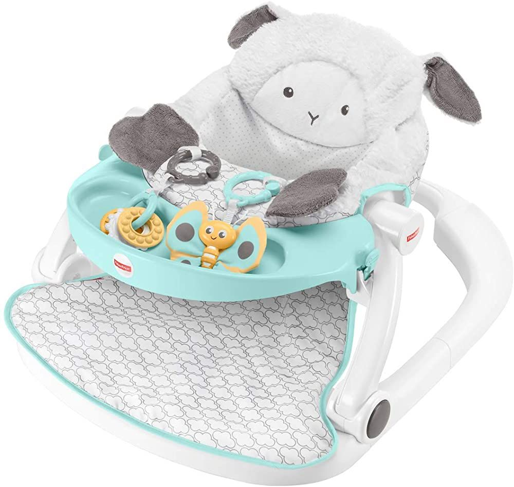 Fisher Price Sit Me Up Floor Seat With Tray Baby Babygirl