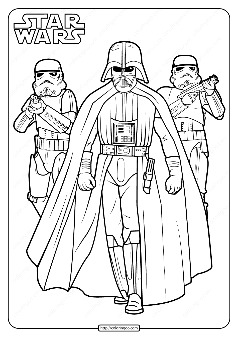 f173a74408e142e52b8d0fbbb1a81e82 » Coloring Pages Darth Vader