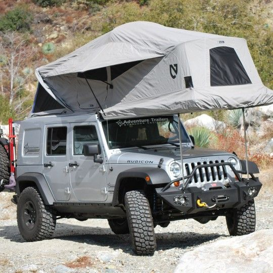 Jeep JK Nemo Adventure Trailer · Adventure TrailersTop TentsJeep ... & Jeep JK Nemo Adventure Trailer | Roof top Tents | Pinterest | Jeep ...