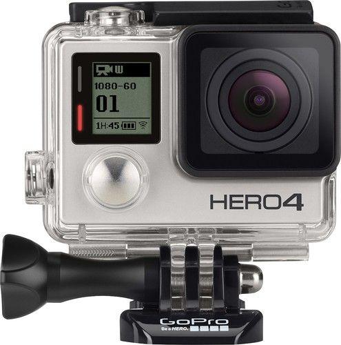 Gopro Hero4 Silver Action Camera Gopro Hero 4 Black Gopro Hero 4 Gopro Camera