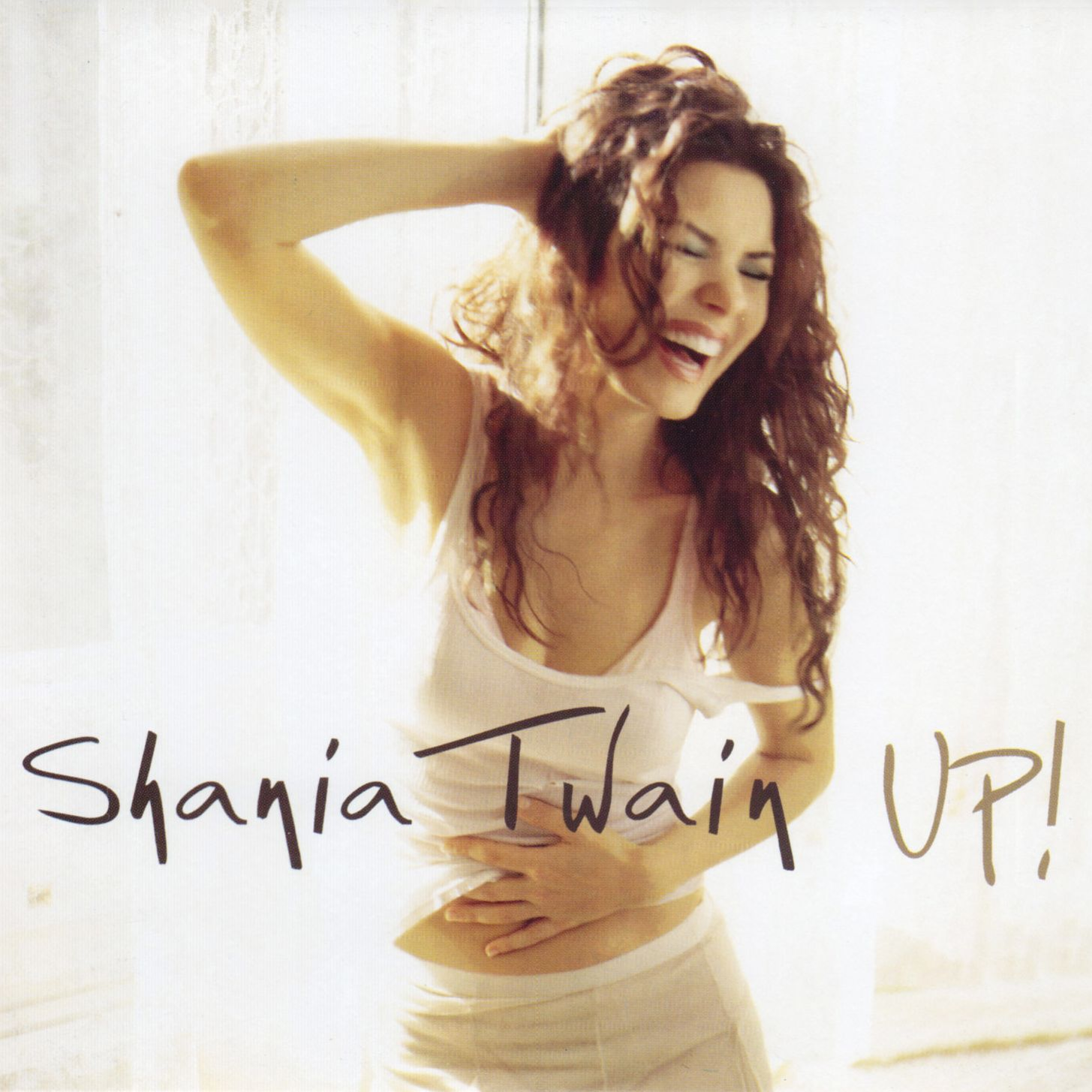 Shania Twain Up Single Mexico Front Shania Twain Cd