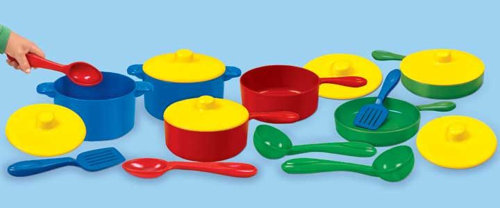 Indestructible Pots Amp Pans Playset Play Therapy Dream