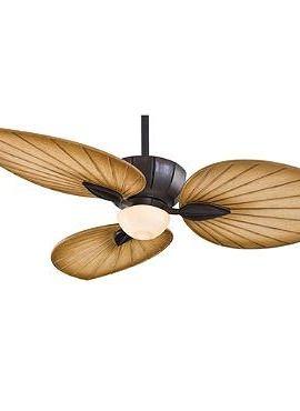 Terrana Ceiling Fan Exudes A Tropical