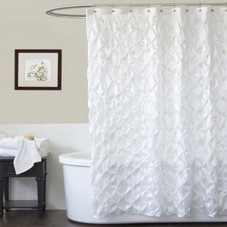 Whitw Shower Curtain