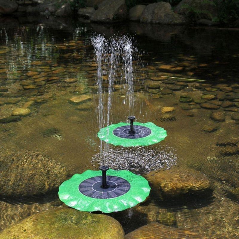 Lotus Leaf Fountain Solar Power Brushless Submersible