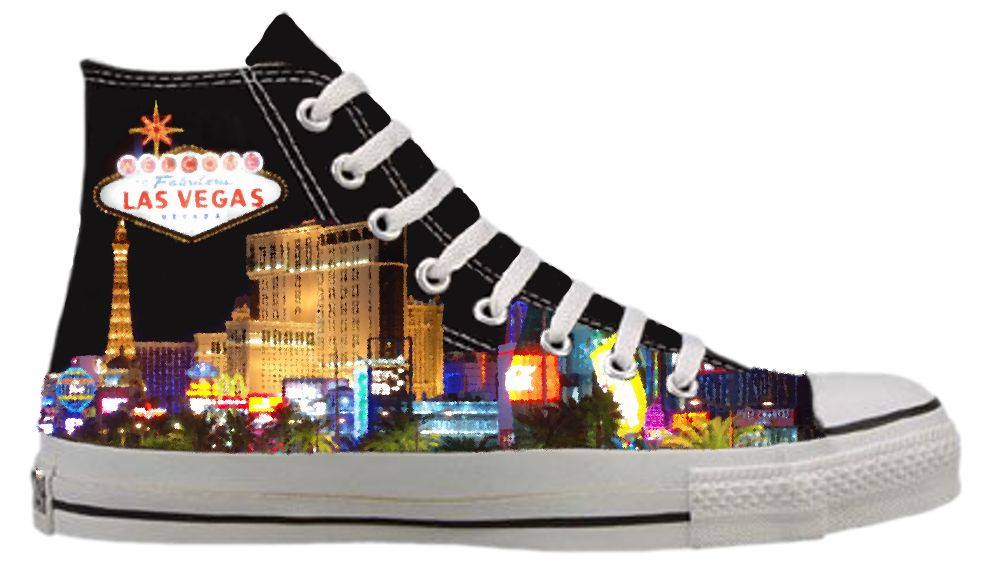 The Las Vegas Chucks Shana wears.   Converse chuck taylor high top ...