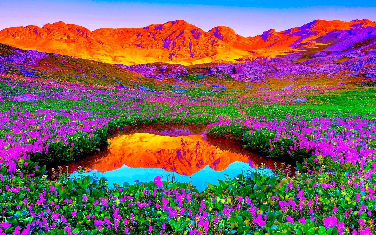 اجمل صور الطبيعة هدف نت Beautiful Nature Pictures Colorful Mountains Beautiful Nature