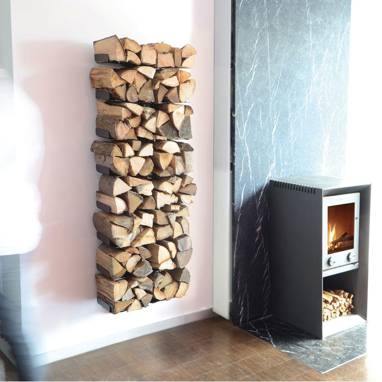 7 Billig Bild Von Regal Brennholz Wohnzimmer  Brennholz