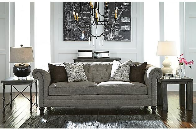 Charcoal Ardenboro Sofa View 1 With Images Home Design Living Room Furniture Living Room Furniture
