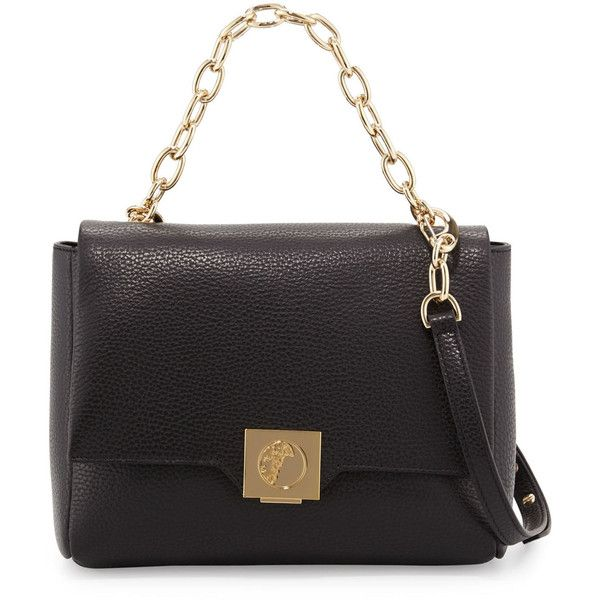 Versace Collection Leather Fold-Over Crossbody Bag ( 995) ❤ liked on  Polyvore featuring bags 5007a6425b0f3
