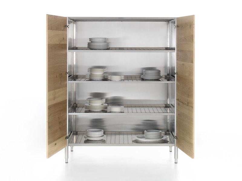 LIBERI IN CUCINA Armoire de cuisine avec portes by ALPES-INOX ...