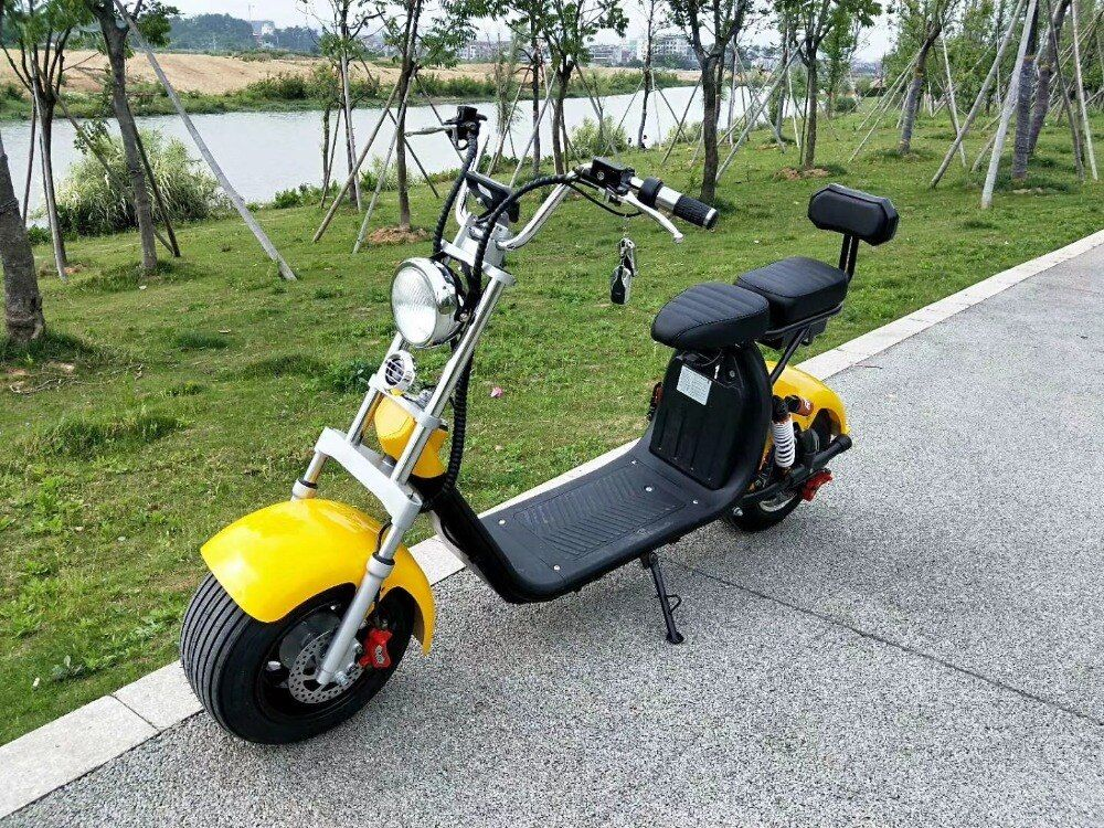 Electric Motorcycle E Bike 60v1000w Electric Citycoco Scooter Moto