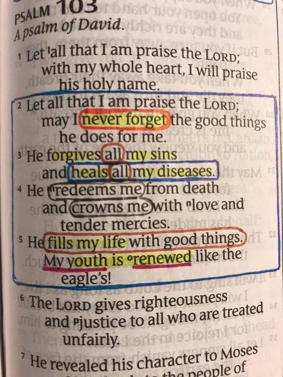 Psalm 103 - my favorite!