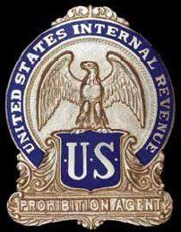 Prohibition agent's ba...