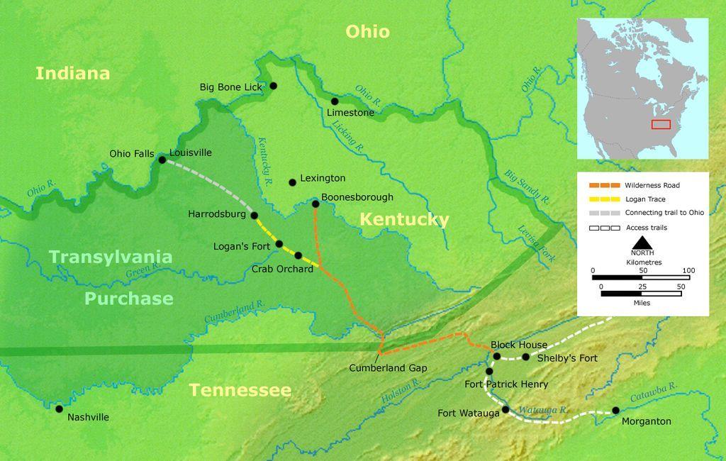 Activities Daniel Boone Wilderness Trail K