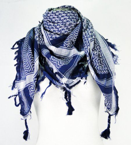 Mens Womens Scarf Tactical Warm Long Wrap Shawl Scarves Camouflage Tassels Stole