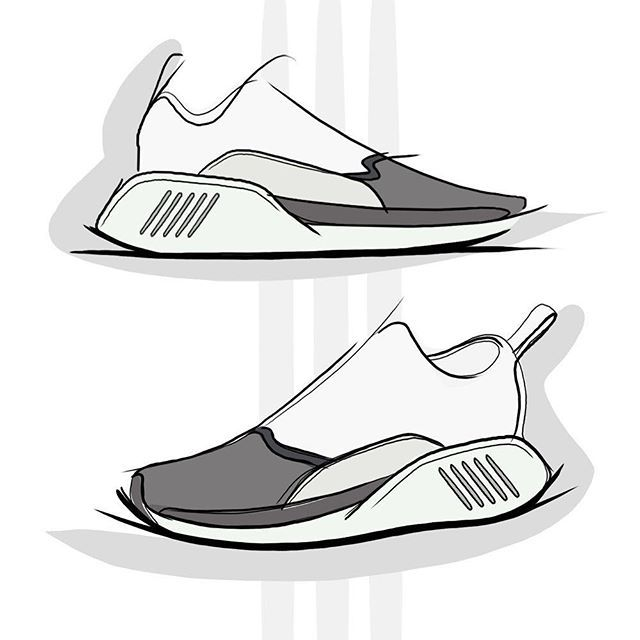 Pin By Zeeshan Hakkim On Sketches Digital Analog Shoe Design Sketches Shoe Sketches Sneakers Illustration