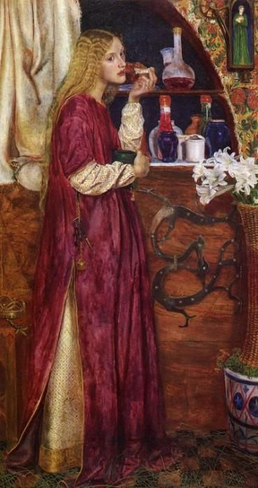 The Queen was in the Parlour by Valentine Cameron Prinsep, 1860 AD