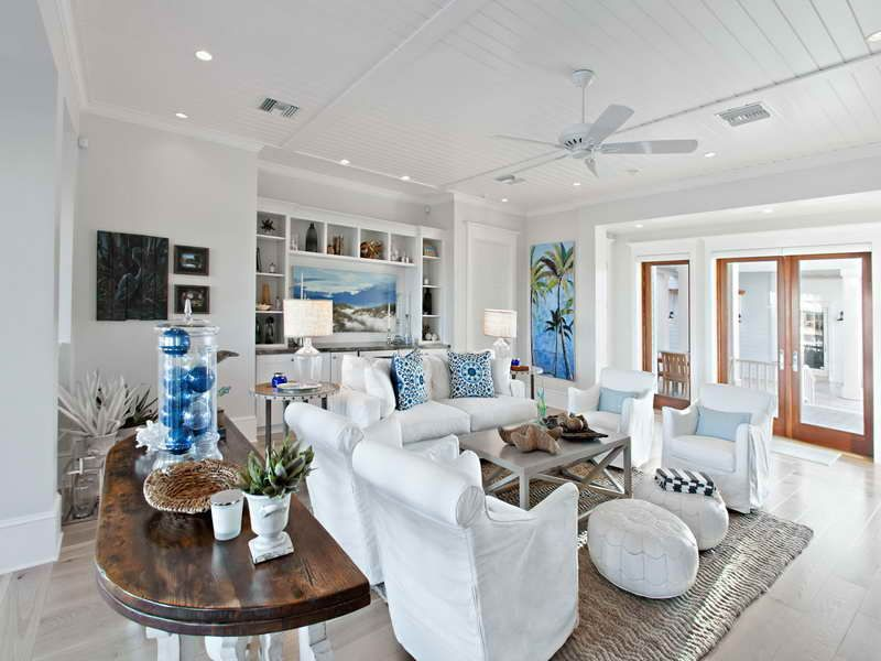 Beach Theme Living Room Accessories
