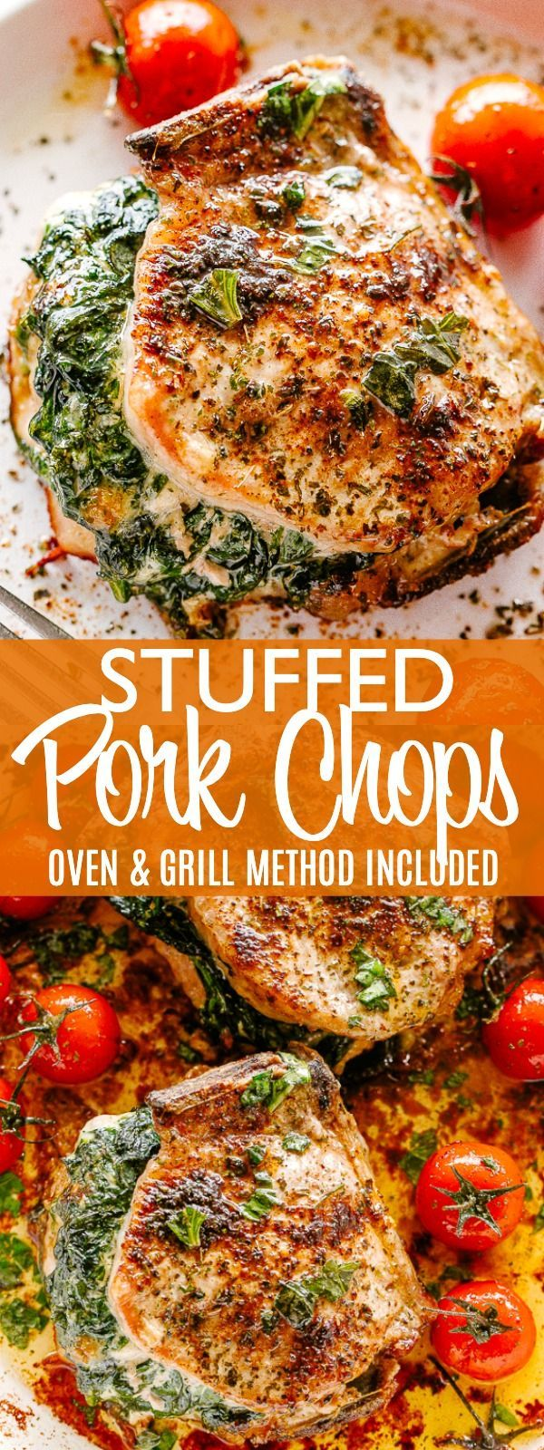 Easy Stuffed Pork Chops Recipe (Low Carb & Keto Friendly) | Diethood