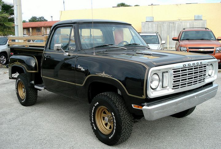 1981 Dodge Stepside Obscure Muscle Car Garage The