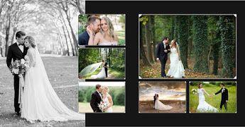 Elegant Wedding Album Design Psd Templates Download Luckystudio4u Wedding Album Design Wedding Album Cover Marriage Photo Album