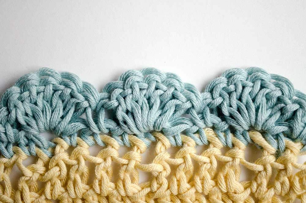 Quatre merveilleux types de bords au crochet   – Häkeln/Stricken