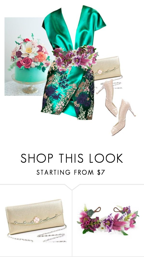 """""""2nd Birthday Series  - CAKE!"""" by dazedandconfused ❤ liked on Polyvore featuring Blumarine, Rock 'N Rose and fashionset"""