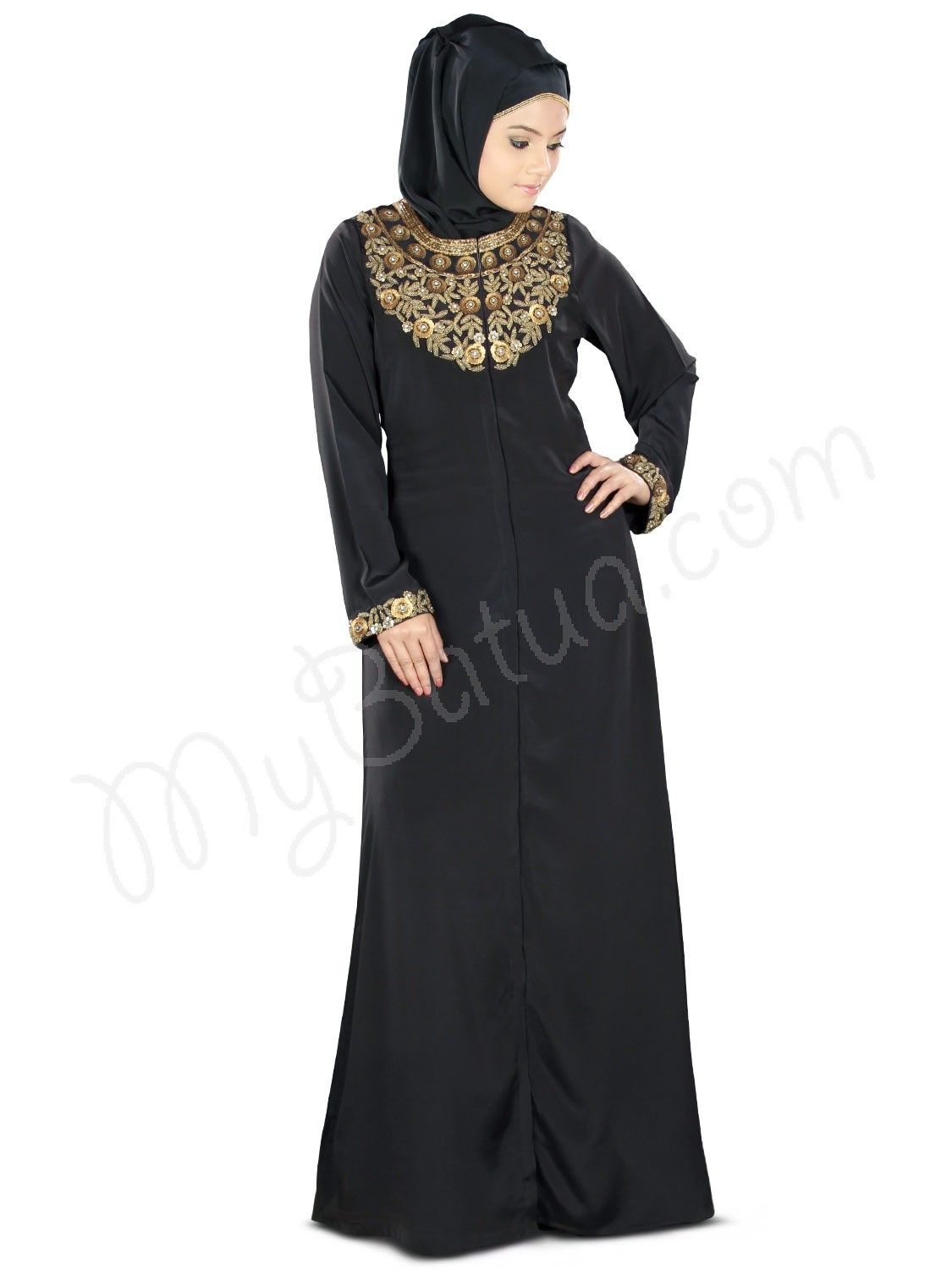 4cb20854c715f Pin by Jenna Hassan on Fashion | Hijab dress, Dresses, Islamic clothing