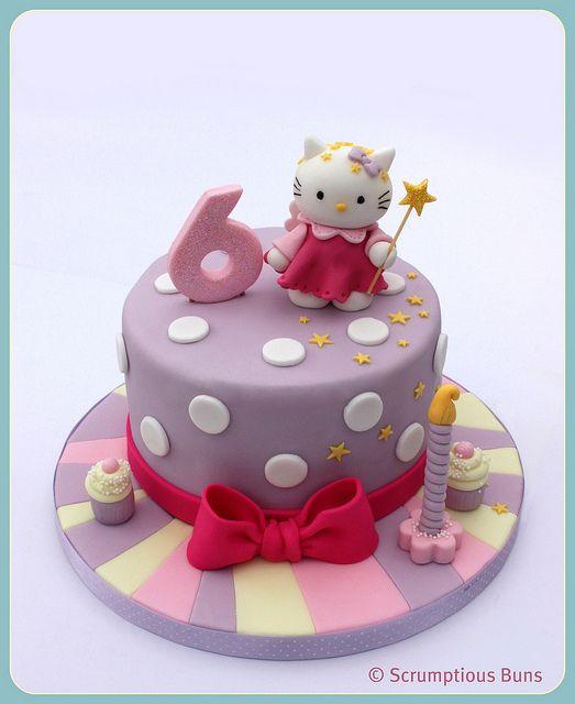 Hello Kitty Birthday Cake Idea | Hello kitty birthday cake ...