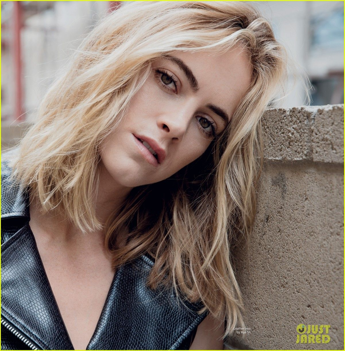 Ncis Emily Wickersham Poses In Sexy Lingerie For Da Man Photo