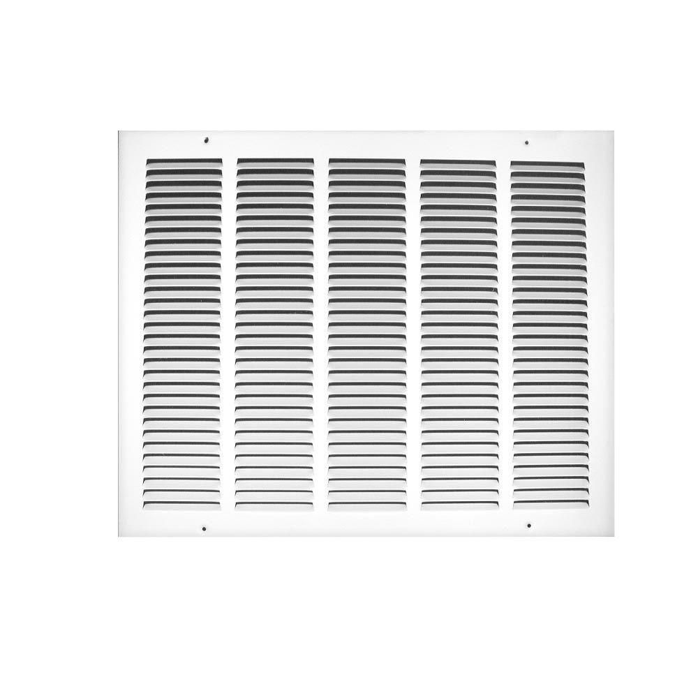 Truaire 24 In X 16 In Steel Return Air Grille 170 24x16 The Home Depot In 2020 Ventilation System Grilles The Home Depot