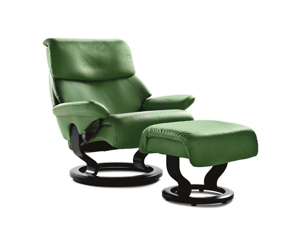 Relaxsessel stressless  Stressless Recliners Dream Small Recliner and Ottoman by ...