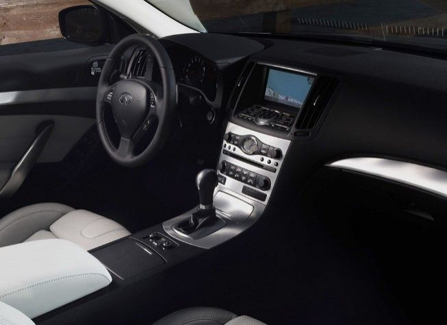 Impressive Interior View Of The 2013 Infiniti G37 Convertible Coupe