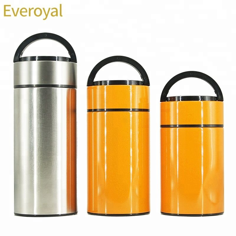 750950ml 1200ml round food container insulated stainless
