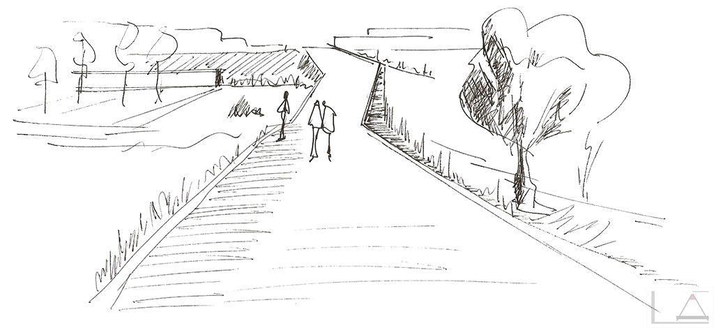 dibujo a tinta i  u0026 39 el camino u0026 39   2011