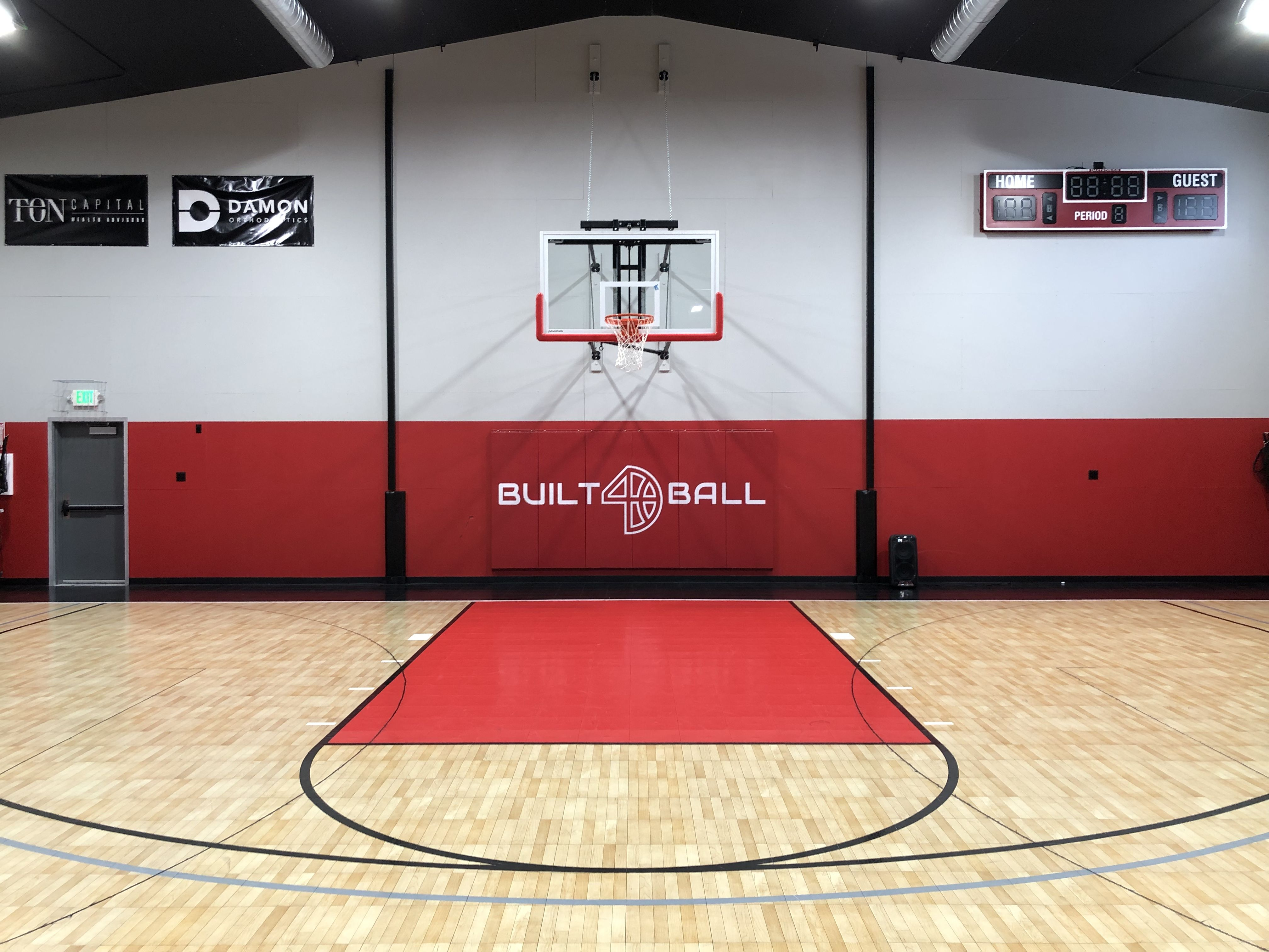 Nba Highlights Printed Logo Wall Padding Discount Package Logo Wall Garage Design Pole Barn Designs