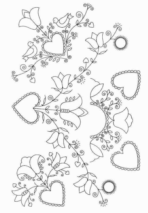 Embroidery Pattern #15 from Helena10.gallery.ru. jwt | flores de ...