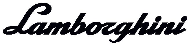 Lamborghini Font and Lamborghini Logo | Misc in 2019