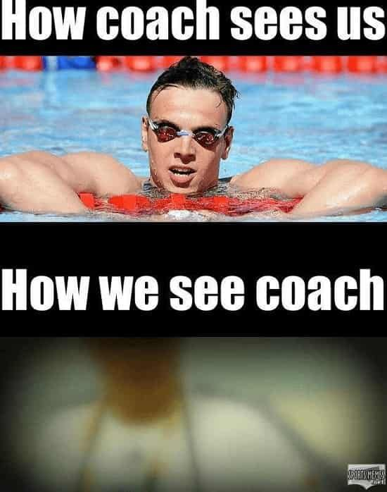 6 Truths About Goggles Only Swimmers Will Understand Swimming Memes Swimming Jokes Swimming Funny
