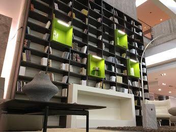 Mazzali Mobili ~ 作り付けの本棚、戸棚 mazzaliの巨大棚 arredamento