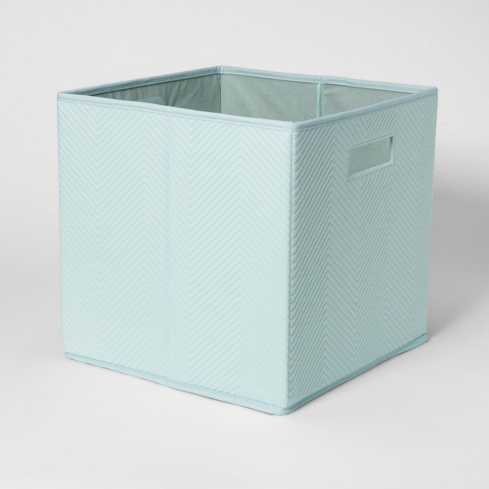 13 X13 Fabric Cube Storage Bin Pillowfort Cube Storage Bins Cube Storage Toy Storage Bins