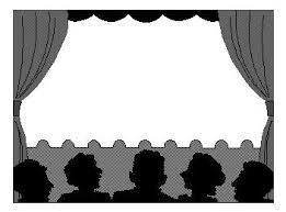 Image Result For Stage Clipart Black And White Pictures