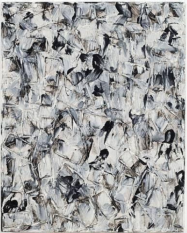 Julian Lethbridge - Soap Box (2007)  oil and oil stick on linen  20 x 16 in. (50.8 x 40.6 cm)