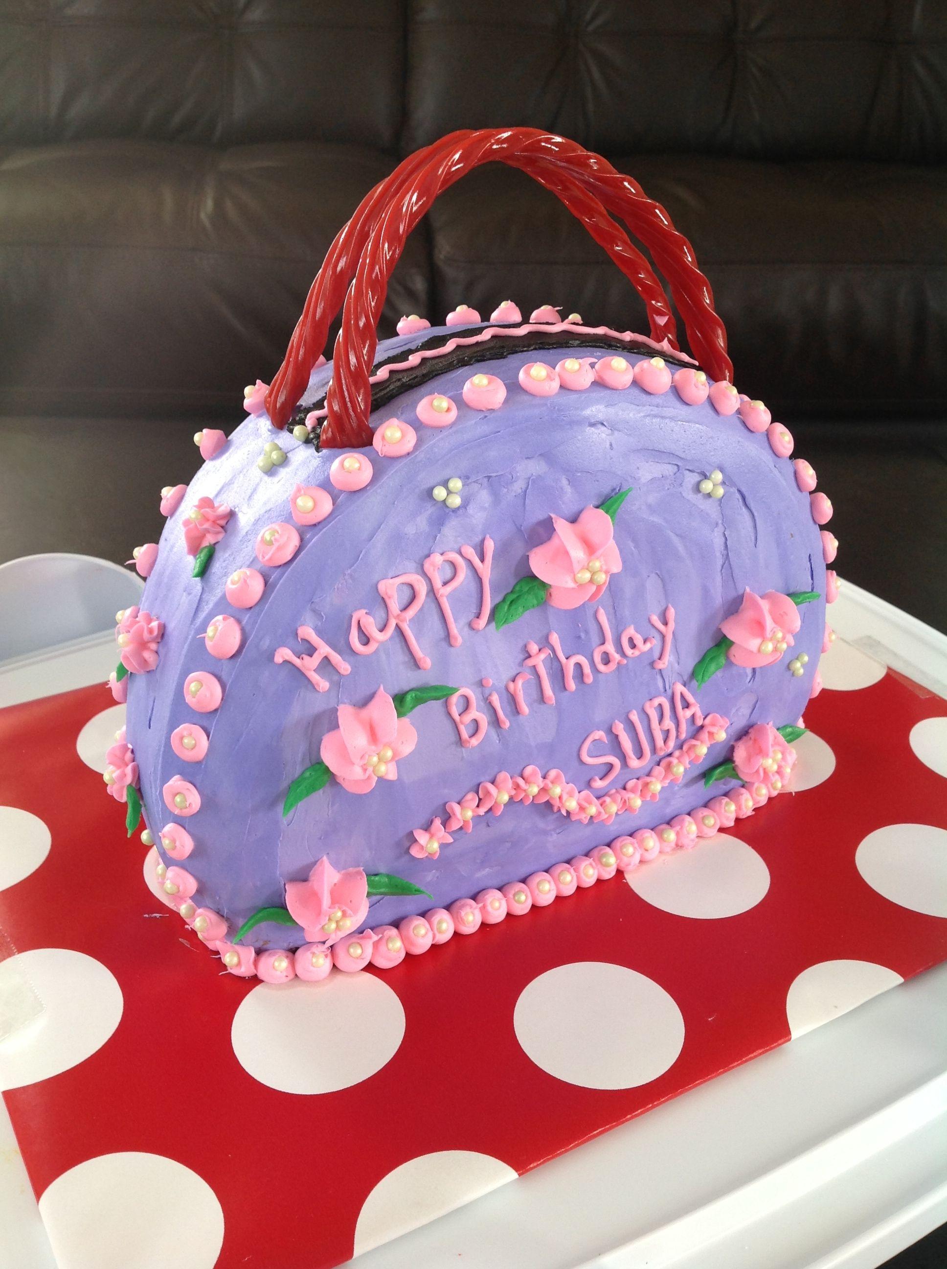 Pleasant Purse For A Shoppers Birthday Yummy Cakes Cake Decorating Cake Funny Birthday Cards Online Benoljebrpdamsfinfo