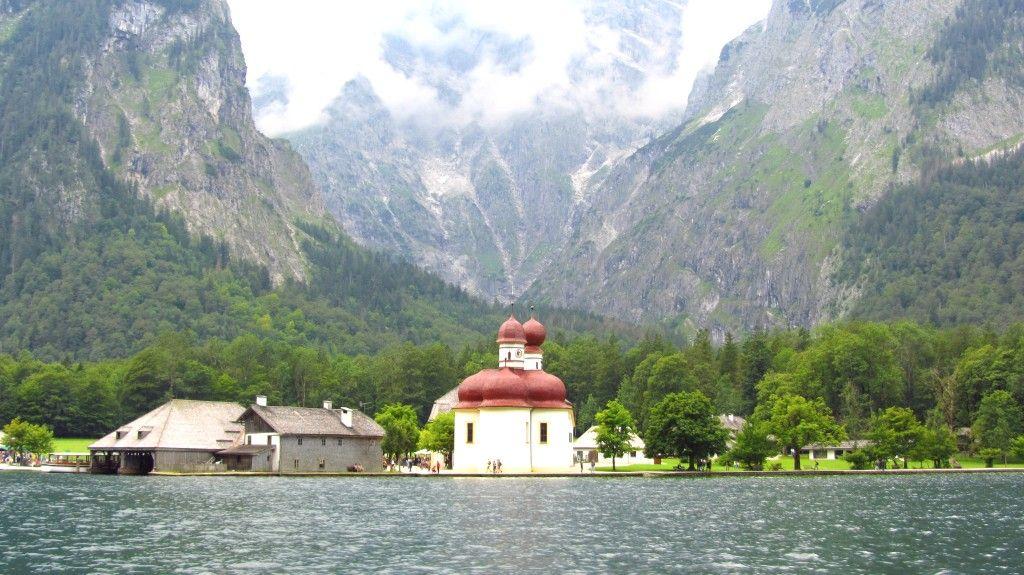 St Bartholoma Und Der Konigssee Urlaub Berchtesgaden Watzmann Bayerische Alpen