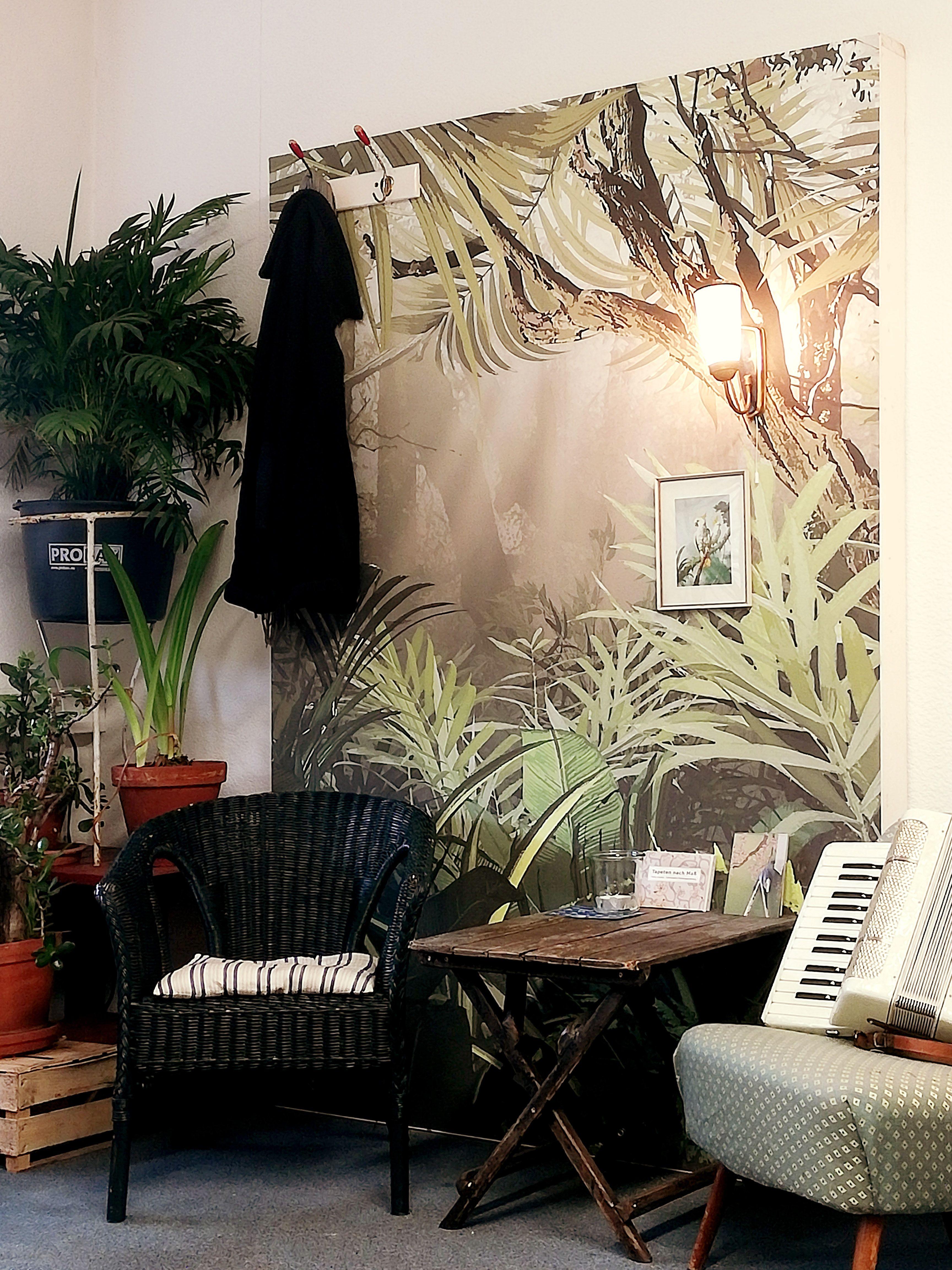 Dschungel Tapete Dschungel Tapete Wohnzimmer Design Einrichtungsideen Für Kleine Räume