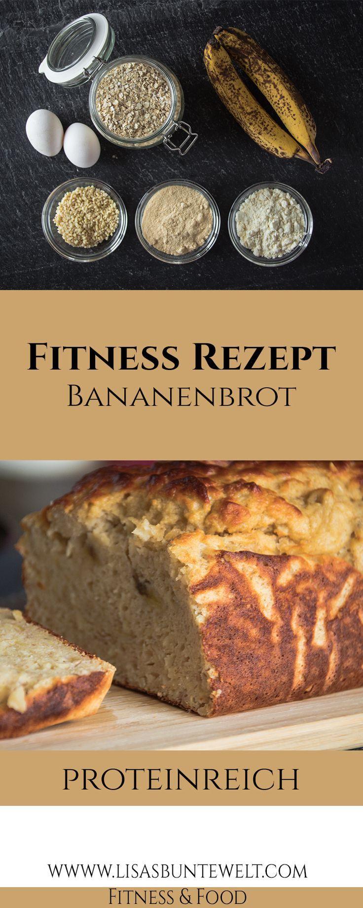 Das beste Bananenbrot-Rezept ohne Zucker und Mehl - Fitness Protein